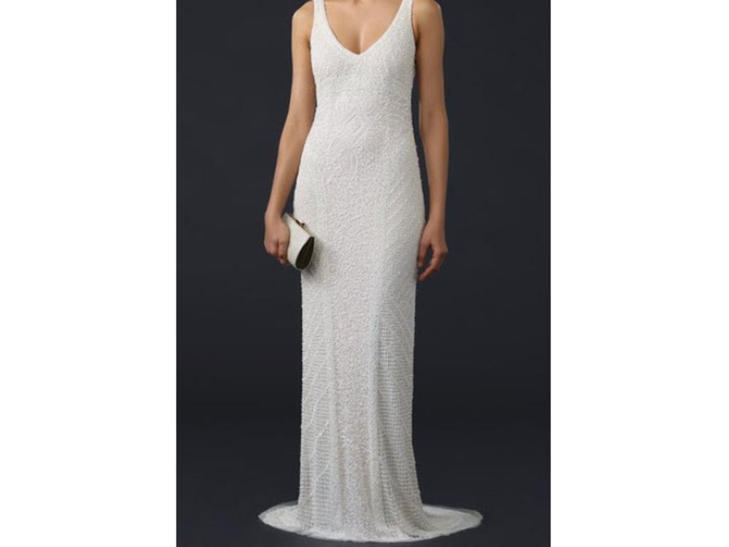 Pin It Theia Caitlin Sequin Deco Gown 2