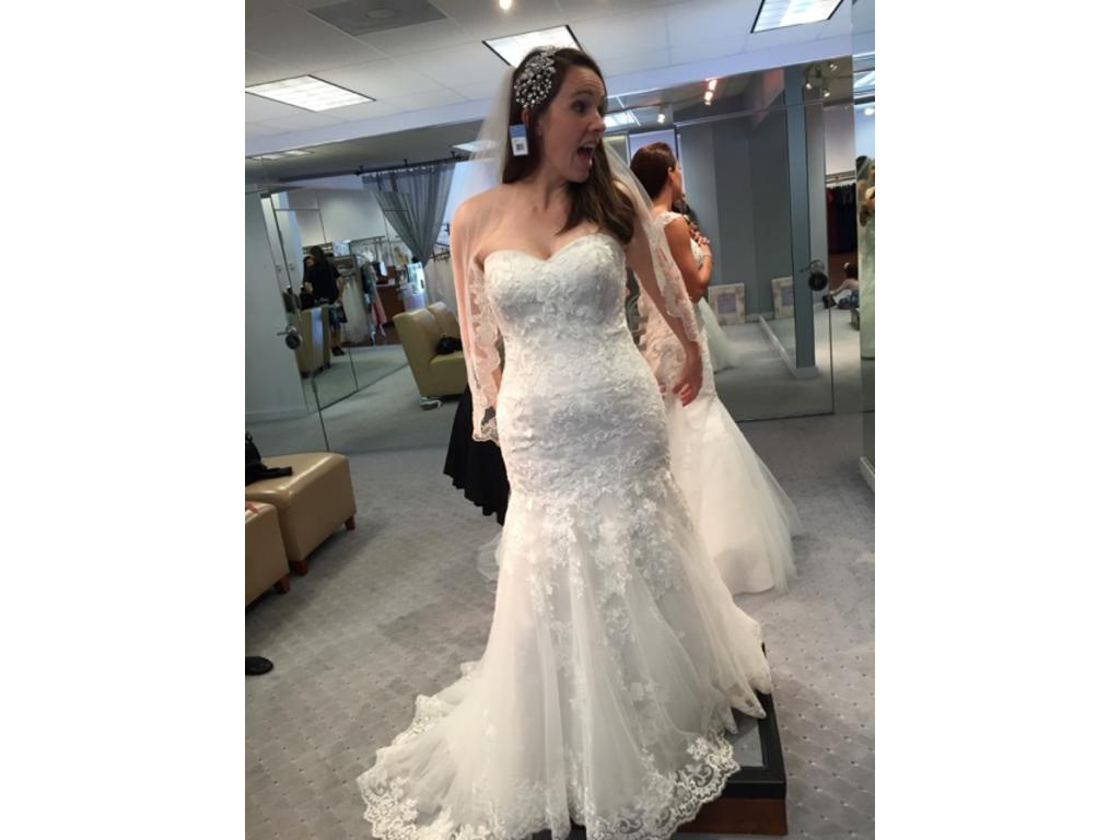39e00ac5a54e Alfred Angelo 2506, $800 Size: 10 | New (Altered) Wedding Dresses