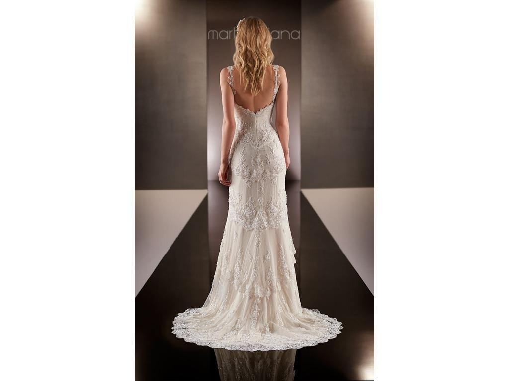 Martina liana designer bridal gown style 597 1 750 size for Pre owned wedding dresses