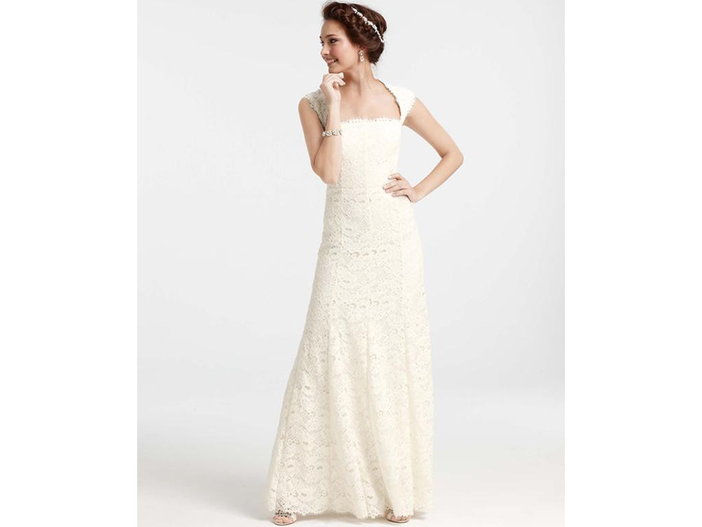 Ann Taylor 289858 500 Size 0 New Un Altered Wedding Dresses