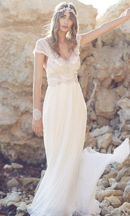 Anna campbell coco 1 800 size 2 new un altered for Anna campbell wedding dress for sale