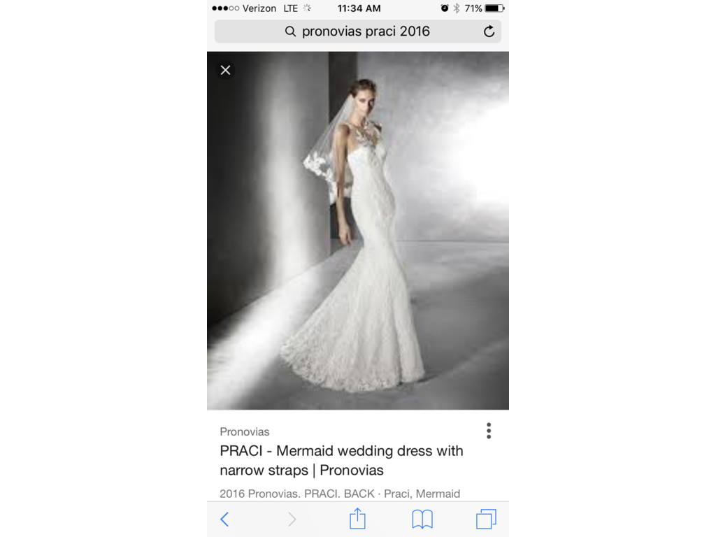 Wedding Dresses For USD 800 : Pronovias praci wedding dress currently for sale at off retail