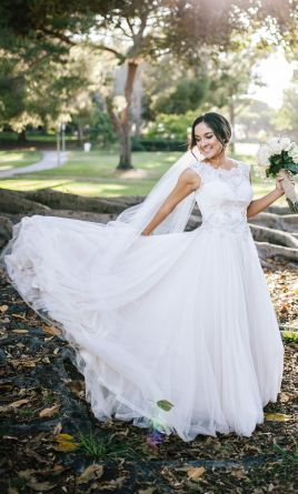 Allure Bridals 9022, $550 Size: 6 | Used Wedding Dresses