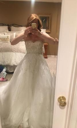 Alfred Angelo Tiana's Fairy Tale Wedding Dress Style 246