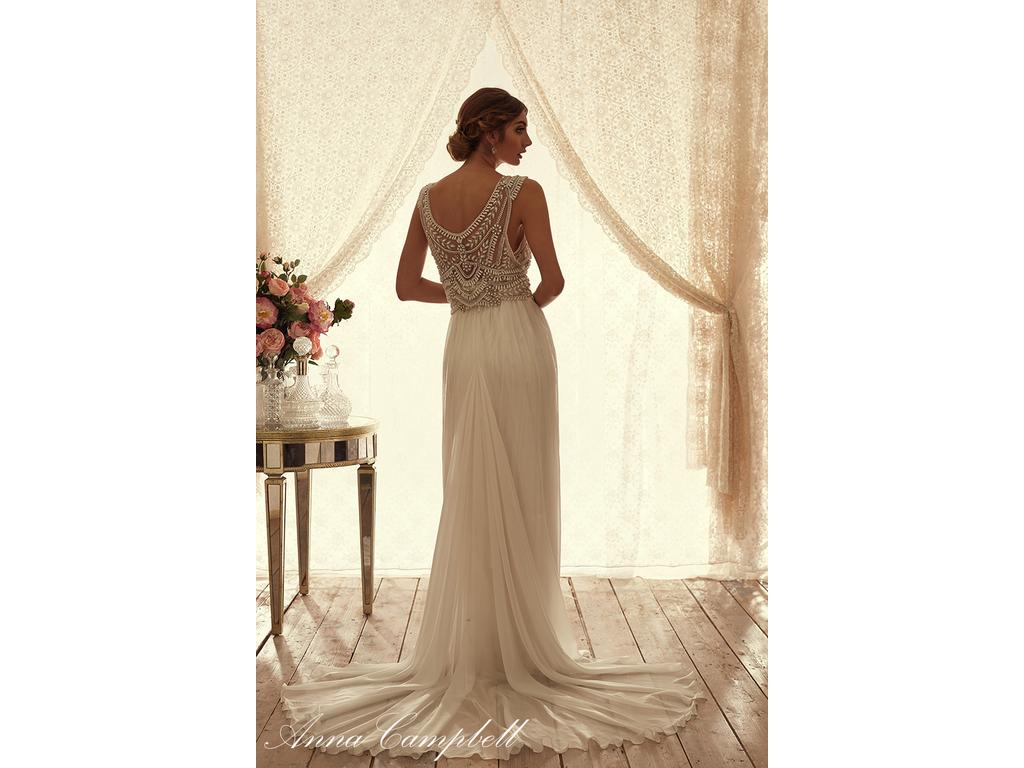 Anna campbell madison 2 400 size 2 new un altered for Anna campbell wedding dress for sale