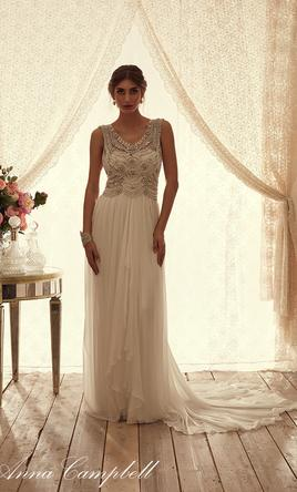 Anna campbell wedding dresses for sale preowned wedding for Anna campbell wedding dress for sale
