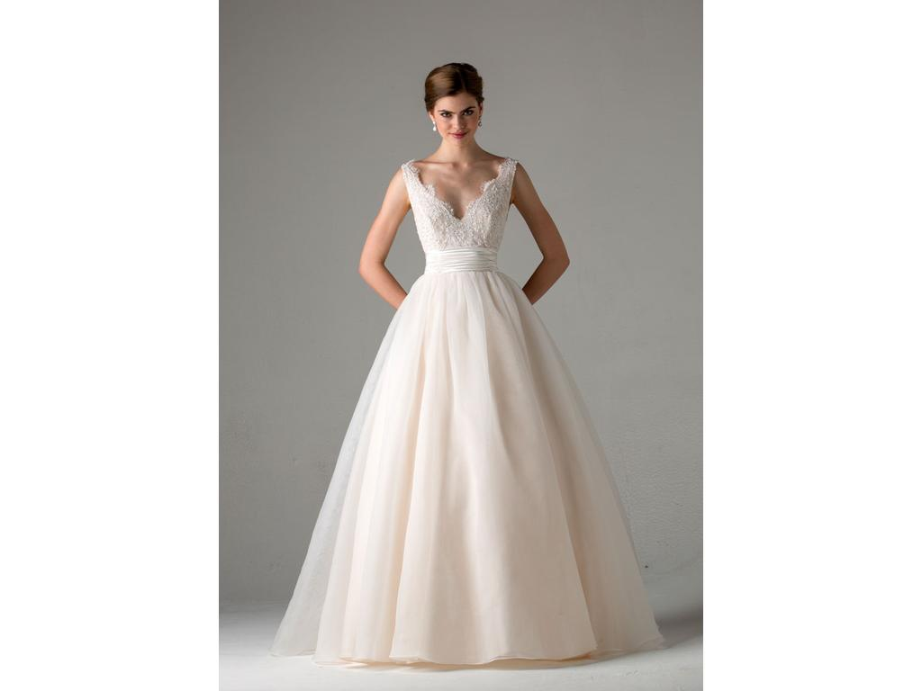 Anne Barge Leah (Blue Willow Bride), $1,399 Size: 10 | Sample ...