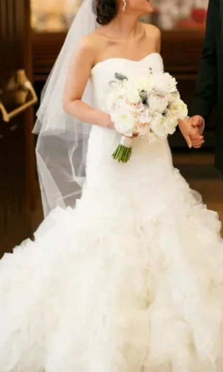 Zac posen truly 800 size 2 used wedding dresses for Zac posen wedding dress price