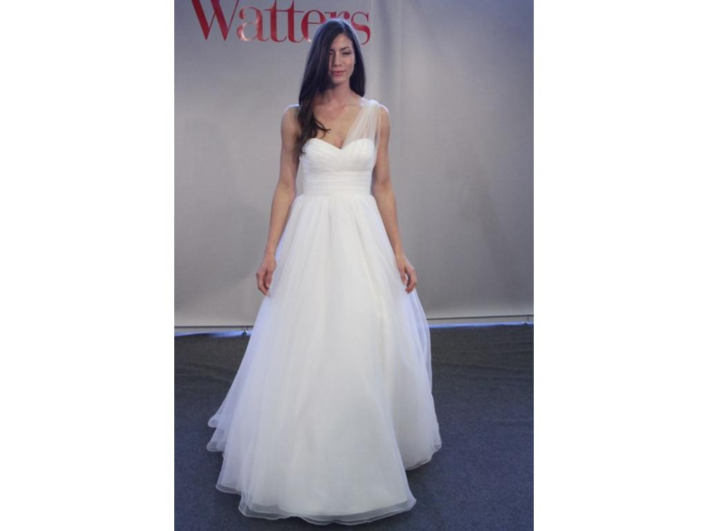 Watters 1 200 size 0 used wedding dresses for Used wedding dress size 0