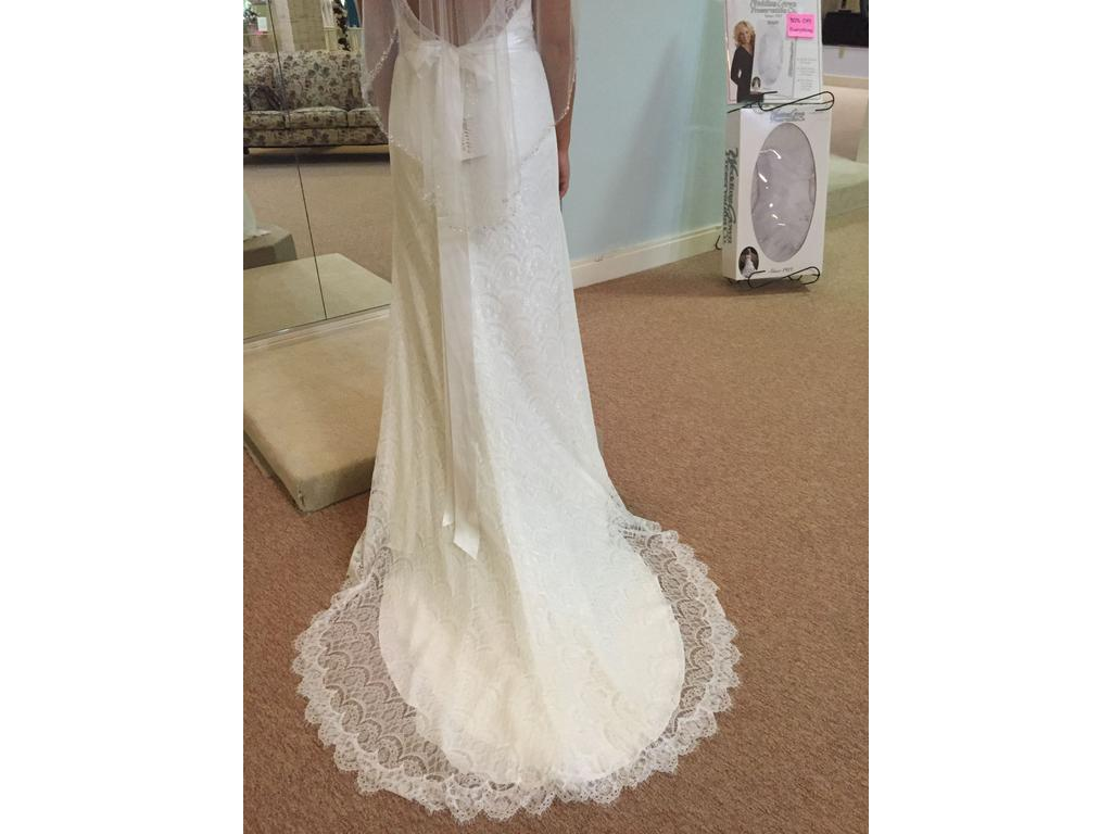 Other reflections by jordan m413 1 000 size 8 new un for Wedding dresses reading pa
