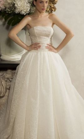 Other Elisabeth B Strapless Princess Gown 10
