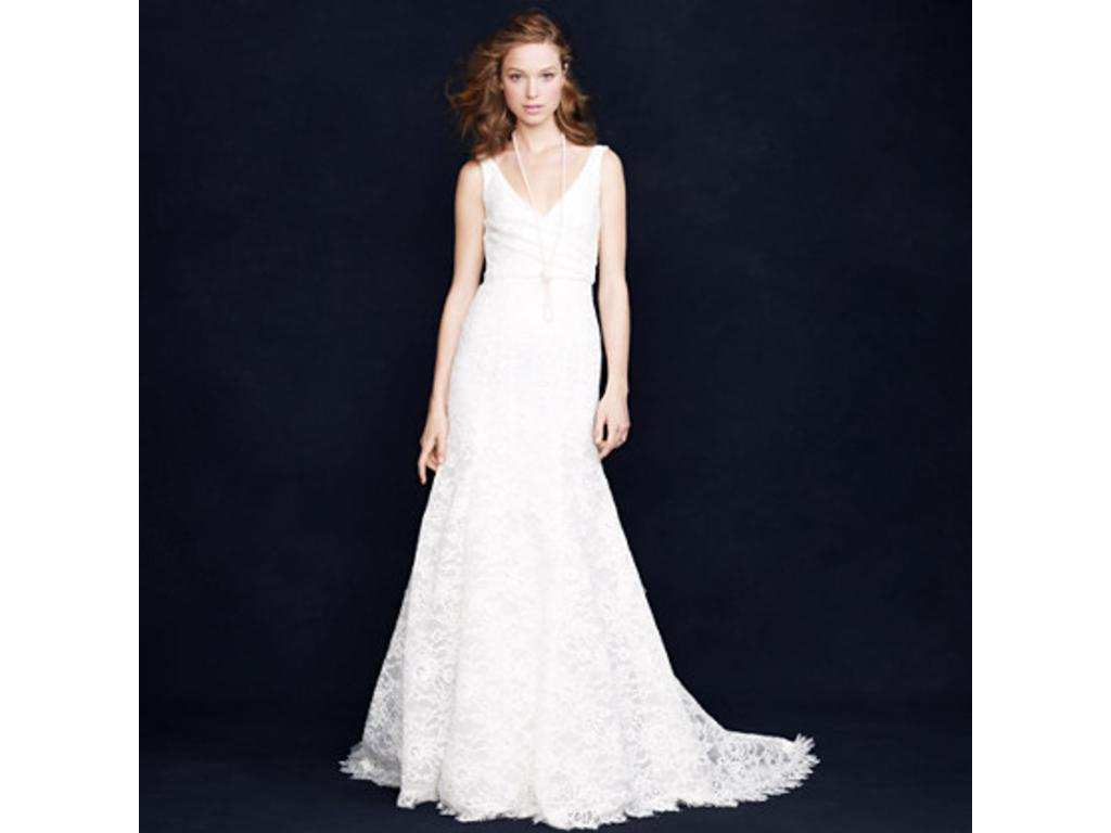 J. Crew Sara Lace Gown, $1,200 Size: 8 | New (Un-Altered) Wedding ...