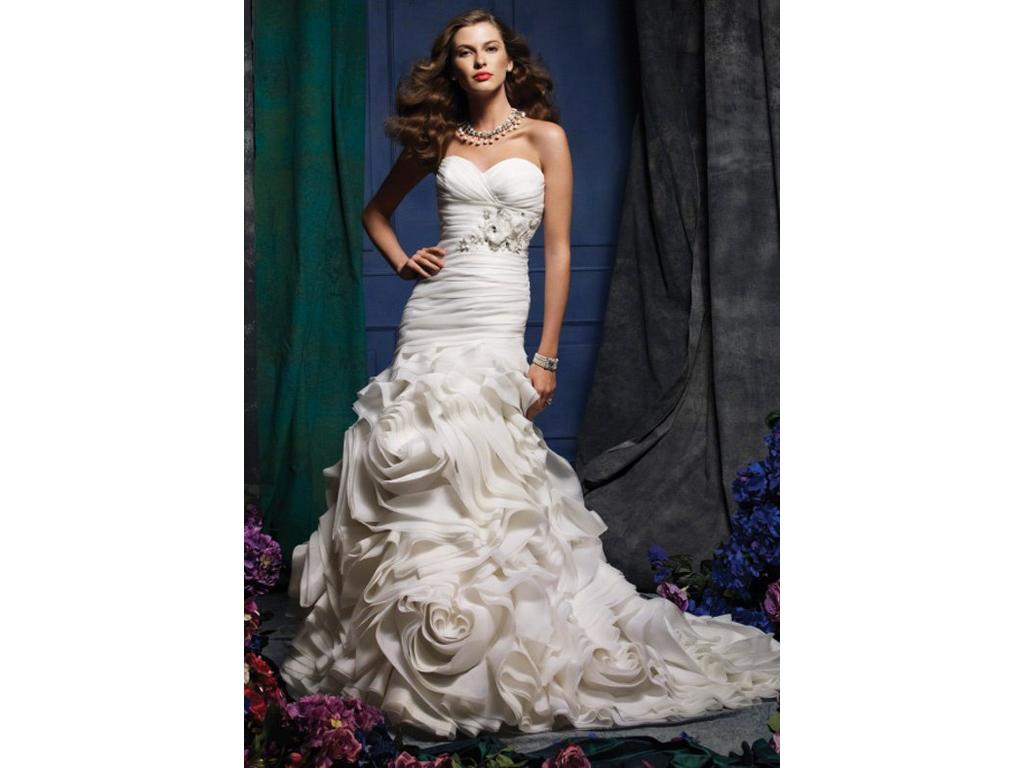 Alfred Angelo Sapphire 870 800 Size 8 Used Wedding Dresses