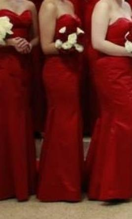 Davinci 9263 size 8 bridesmaid dresses for Da vinci red wedding dress