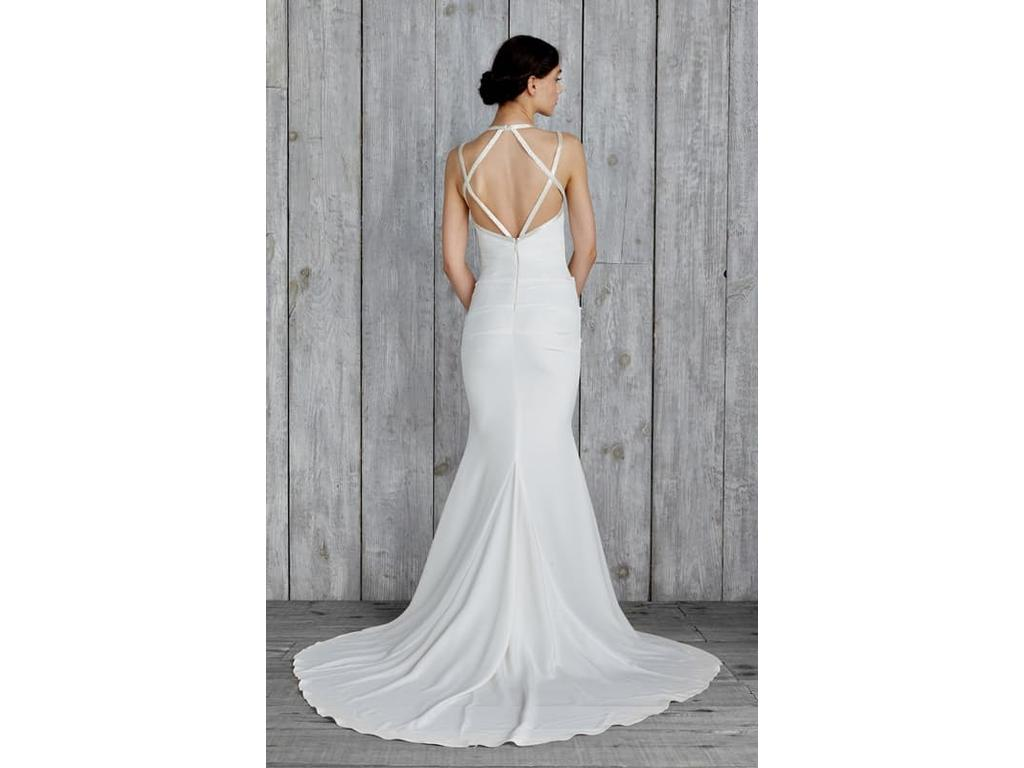 Nicole miller taylor 780 size 4 used wedding dresses for Nicole wedding dress prices