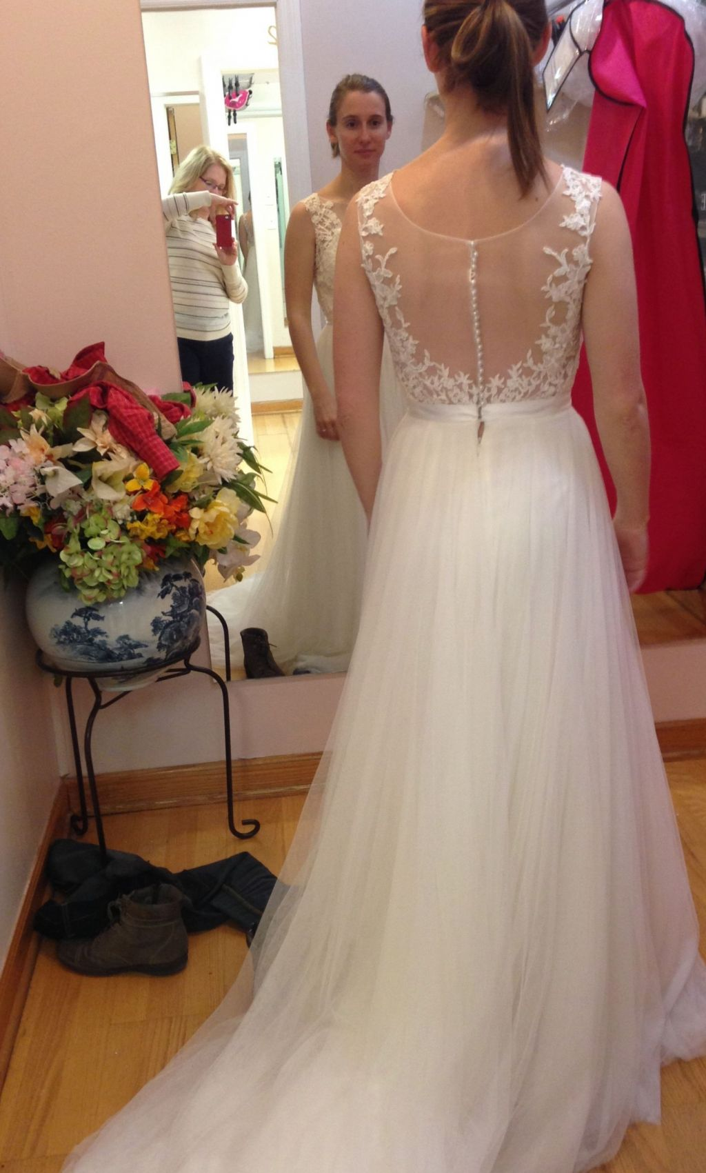 Wtoo marnie 14715 700 size 0 used wedding dresses for Used wedding dress size 0