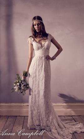 Anna campbell eloise 1 656 size 6 new un altered for Anna campbell wedding dress for sale