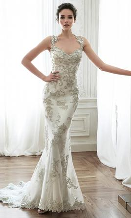 Maggie Sottero Jade, $1,300 Size: 8 | New (Un-Altered) Wedding Dresses