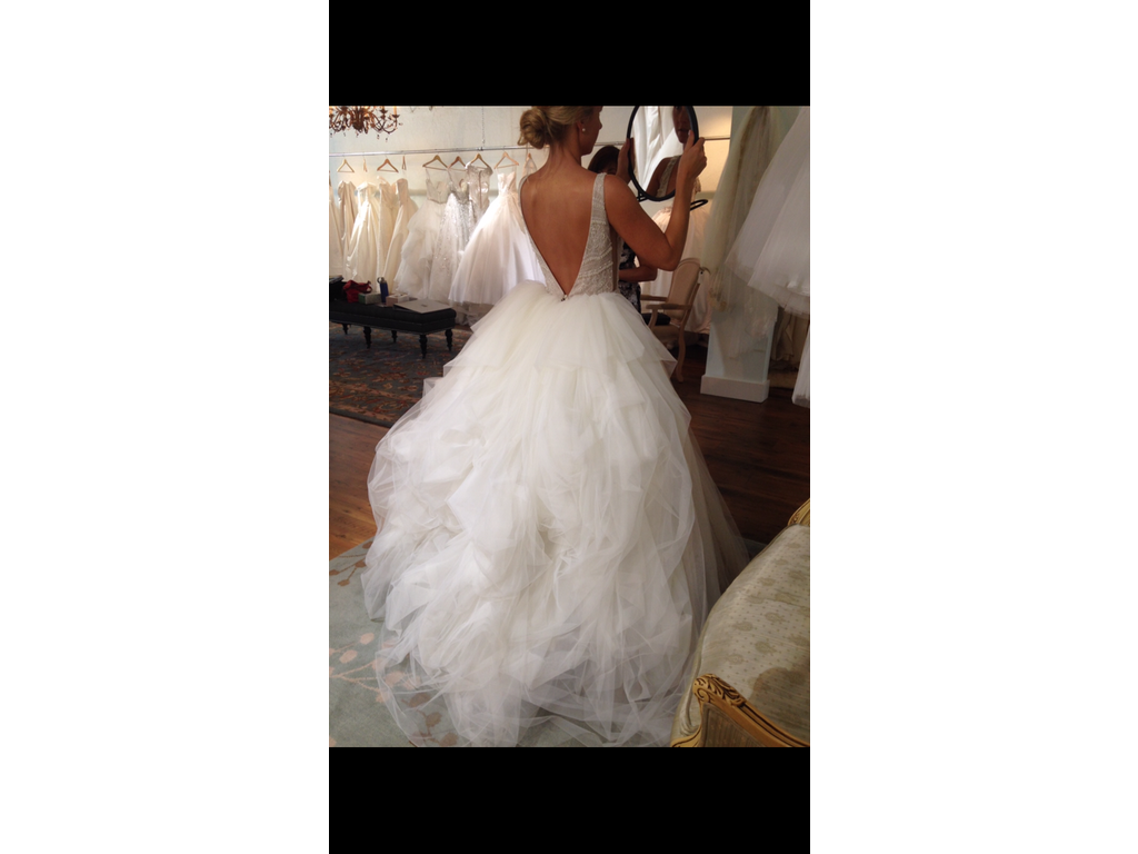 Other bloom 3 000 size 6 used wedding dresses for Buy used wedding dresses online