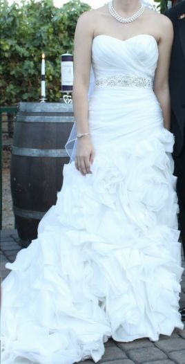 Maggie sottero dynasty haute couture 300 size 4 used for Haute couture sale