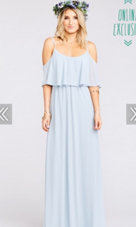 Other Show Me Your Mumu Caitlyn Ruffle Size 4 Bridesmaid Dresses