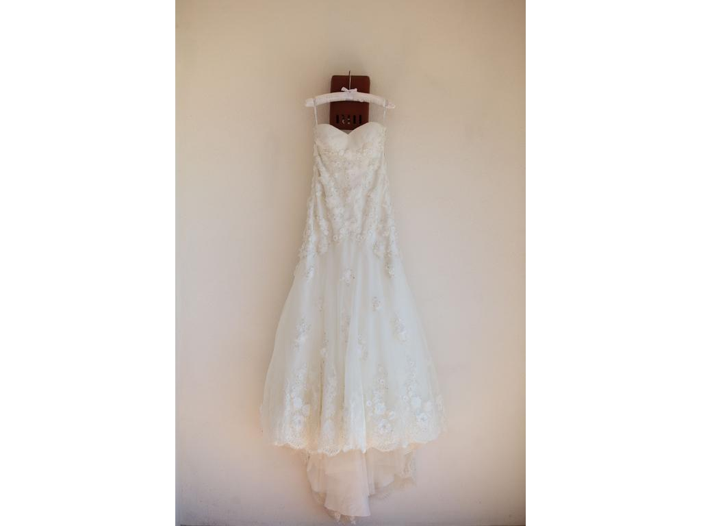 Wtoo 11538 1 750 size 0 used wedding dresses for Used wedding dress size 0