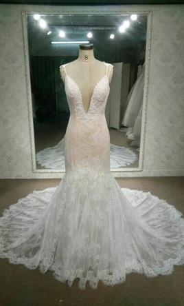 Inspired Gowns Berta inspired lace wedding dress 4