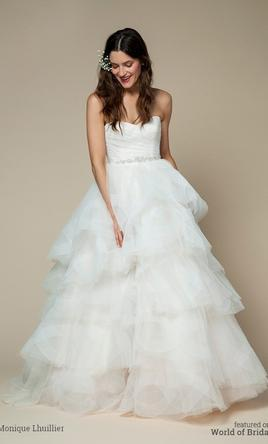 Monique Lhuillier Bliss Collection, $950 Size: 8 | Used Wedding ...