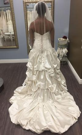 Maggie sottero haute couture priscilla 225 size 12 for Maggie sottero couture wedding dress