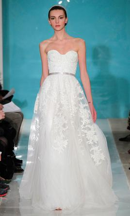 Reem Acra Heavenly Lace 6