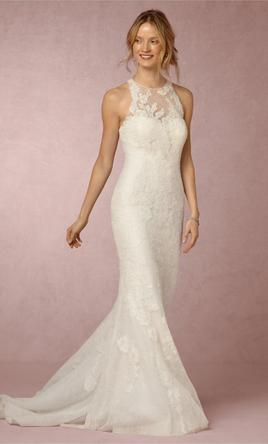 Bhldn jensen gown 550 size 10 used wedding dresses for Bhldn used wedding dresses