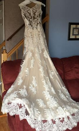 Maggie Sottero 4MS061+Ivory Over Light Gold, $750 Size: 8 | New (Un ...