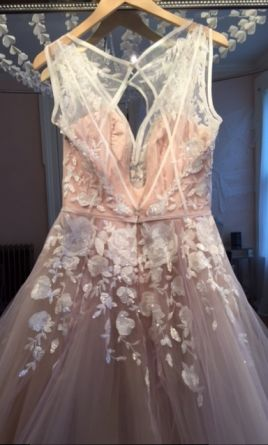 Hayley Paige Leah6604 2600 Size 10 Sample Wedding Dresses