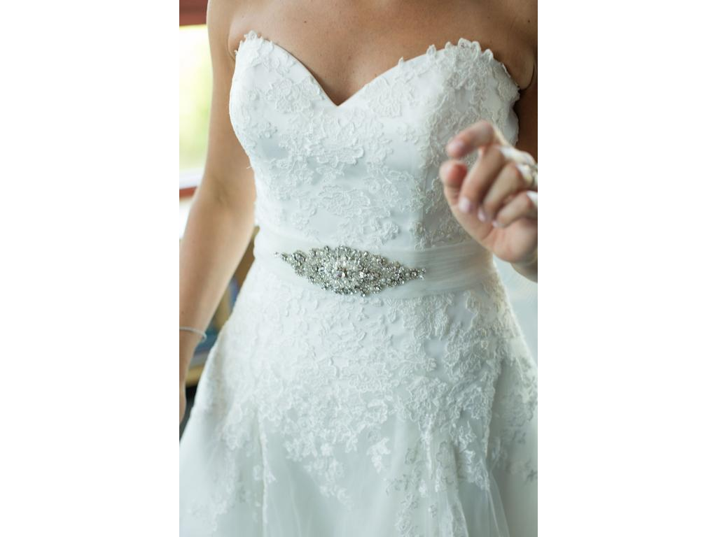Kitty Chen Audrey K1377, $549 Size: 8 | Used Wedding Dresses