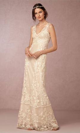 Bhldn gwyneyth gown 35808880 300 size 6 used for Bhldn used wedding dresses