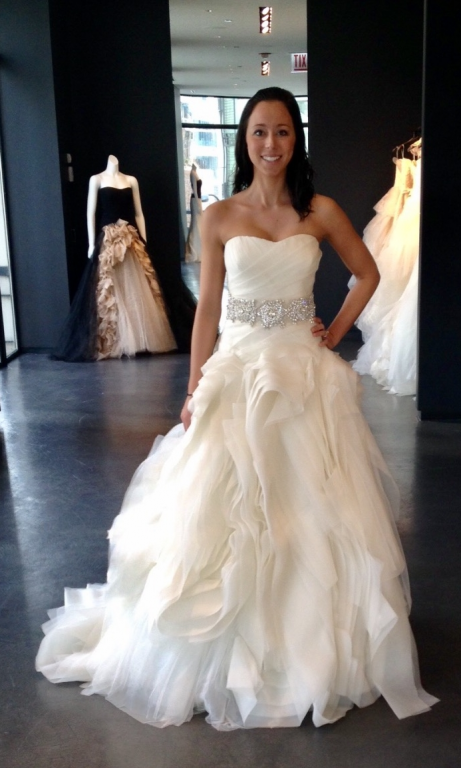 Vera Wang Diana, $2,699 Size: 6 | Used Wedding Dresses