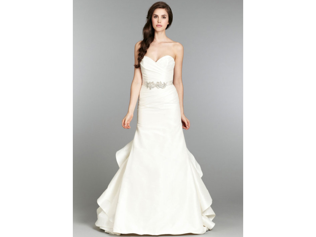 Hayley paige daffodil 1 000 size 12 sample wedding for Hayley paige wedding dresses cost