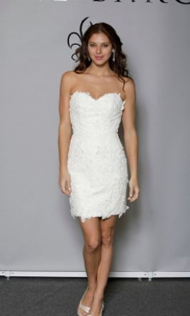 Anne barge lace dress