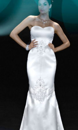 Matthew Christopher Sasha Wedding Dress 10