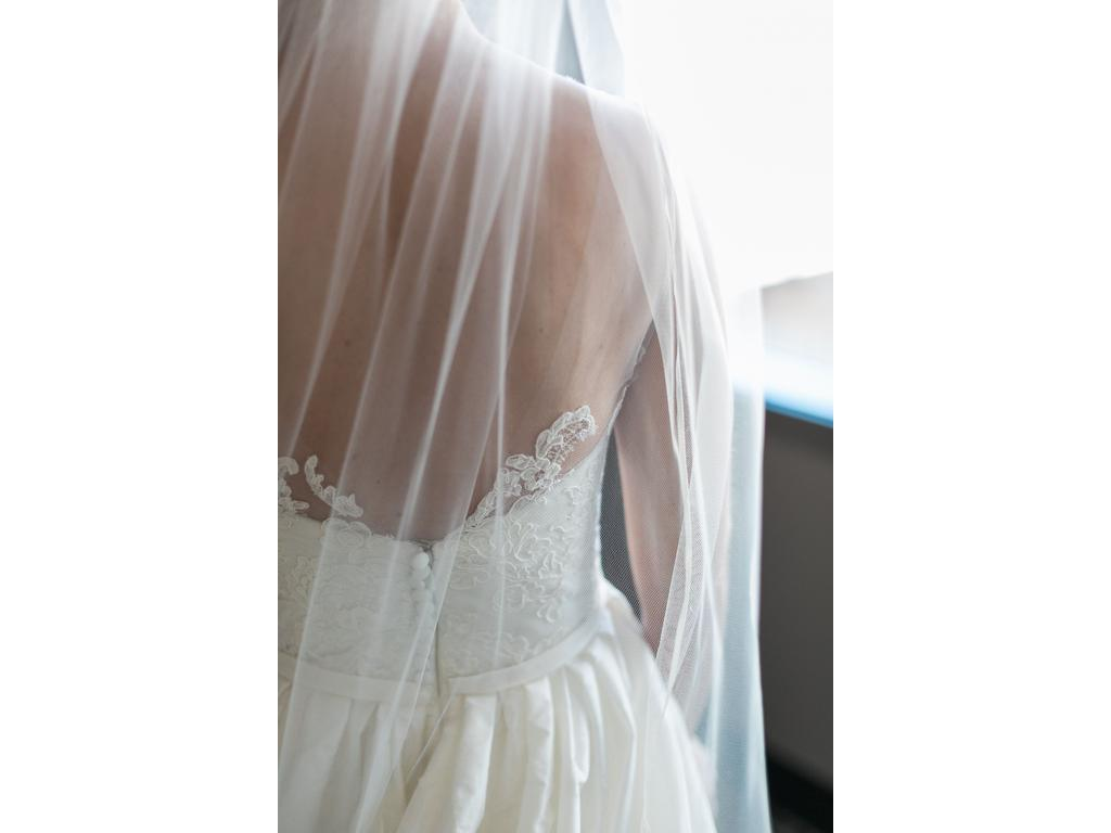 Amsale ryan 1 980 size 2 used wedding dresses for Ryan and walter wedding dress prices