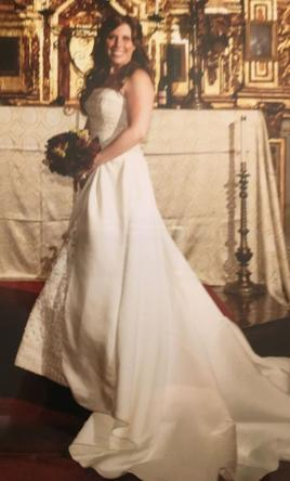 mon amie 175 size 10 used wedding dresses