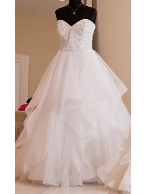Alfred Angelo Style 2626 Wedding Dress Used Size 16 495