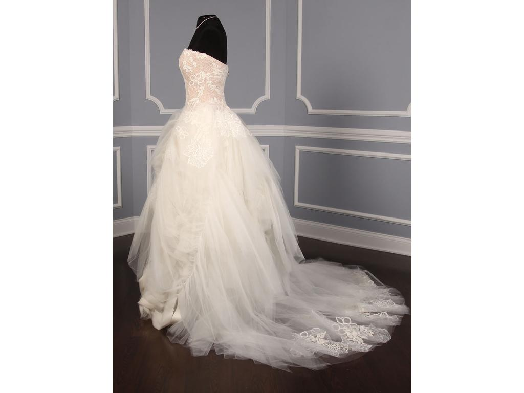 Vera wang ophelia 3 425 size 8 new un altered for Vera wang wedding dress for sale