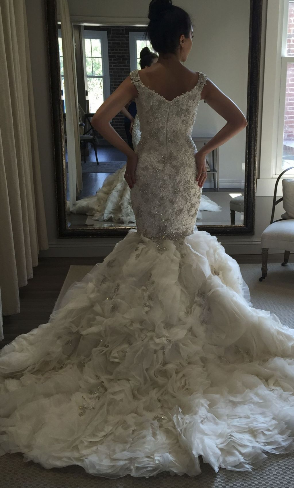 Ysa makino 4 900 size 6 used wedding dresses for Ysa makino wedding dress
