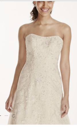 ... Other Jewel  Lace A Line Wedding Dress With Beading