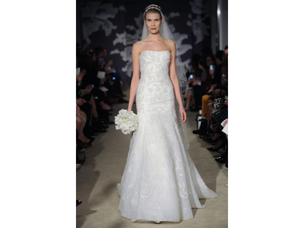 Wedding Dresses USD 7000 : Carolina herrera clementine size used