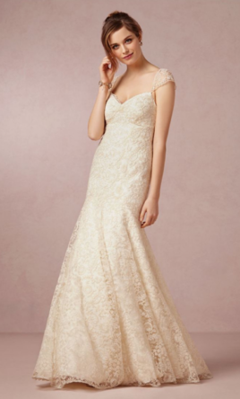 Bhldn wedding dresses for sale preowned wedding dresses for Previously worn wedding dresses for sale