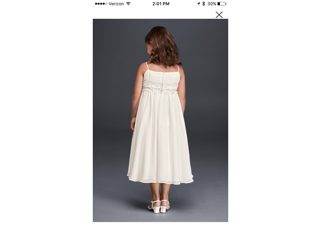 David s Bridal FG9743 Size 0