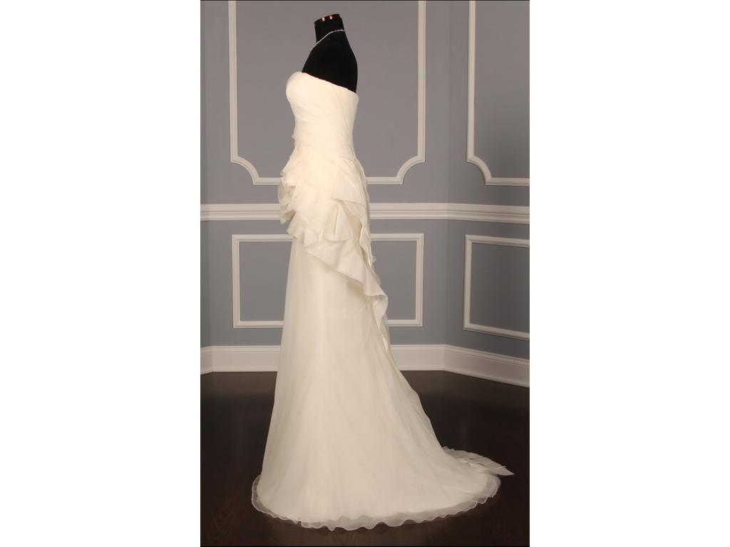 Vera wang nolita 2 695 size 12 used wedding dresses for Vera wang wedding dress for sale