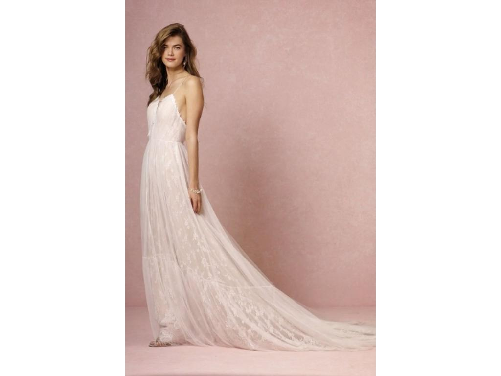 Bhldn lyric 500 size 2 used wedding dresses for Bhldn used wedding dresses